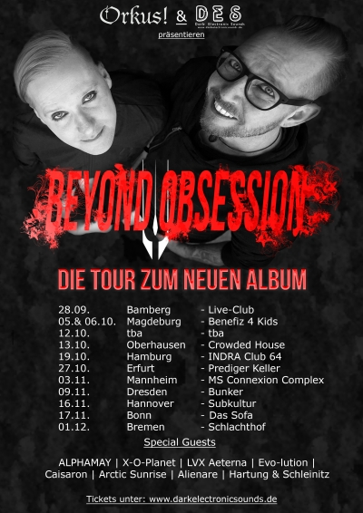 Beyond Obsession - Die Tour...