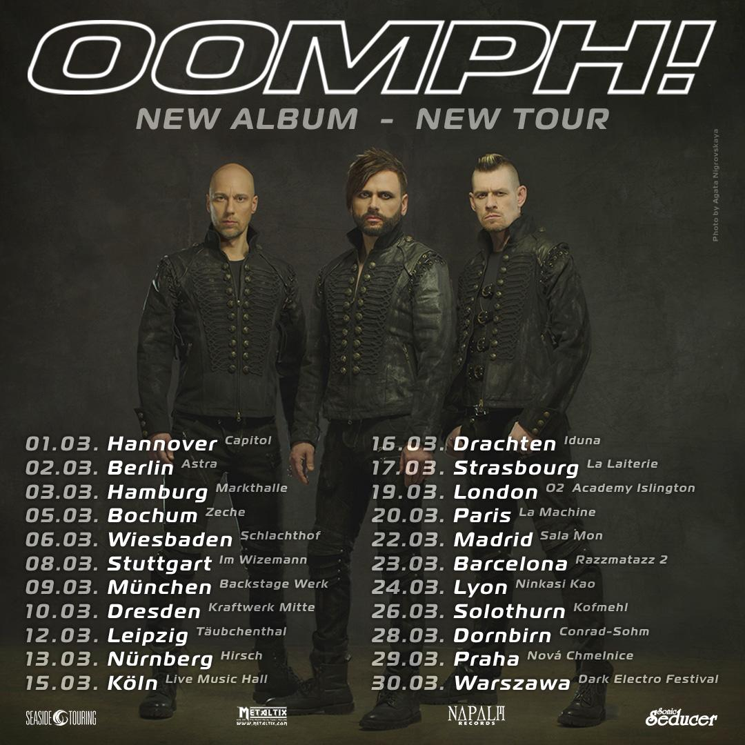 Oomph! - Platin für Album...