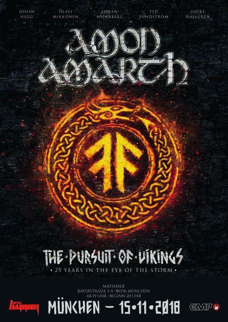 Amon Amarth verkünden 'The Pursuit...