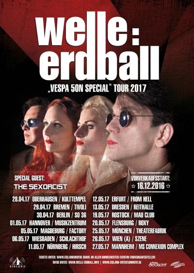 WelleErdball Tour 2017 mit The...