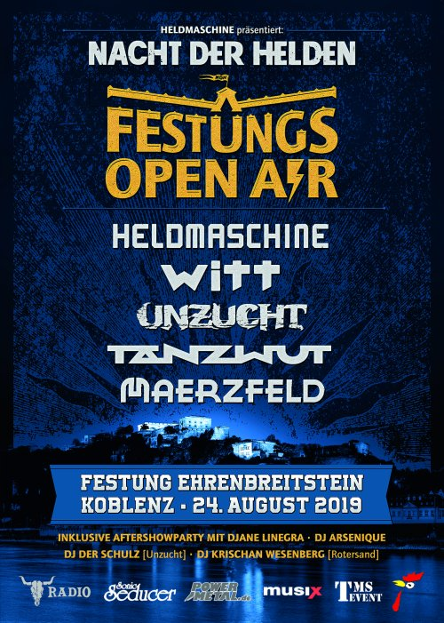 Das Nacht der Helden Festival...