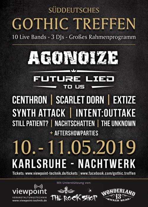 Infos zum Süddeutschen Gothic Treffen