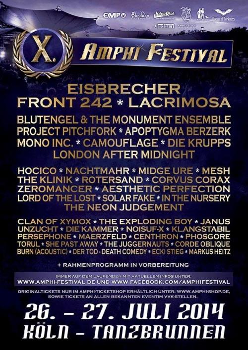 Amphi Festival 2014 - Fotostrecke