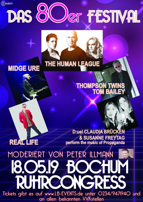 Das 80er Festival in Bochum...