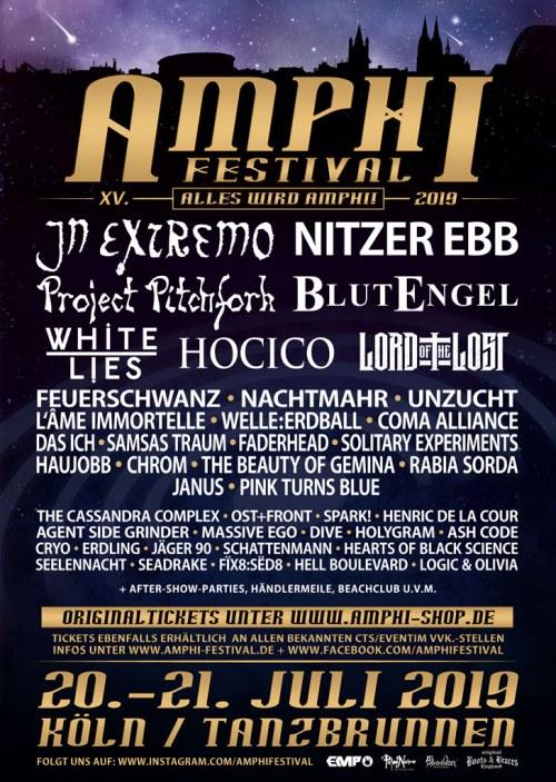 Reminder Amphi Festival 2019