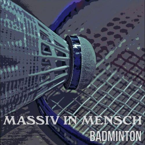 Massiv in Mensch spielen Badminton