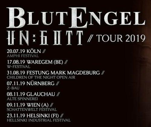 Artikelbild,Blutengel Die Ungott Tour 2019...