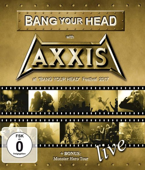 AXXIS – Tour, Blu Ray...