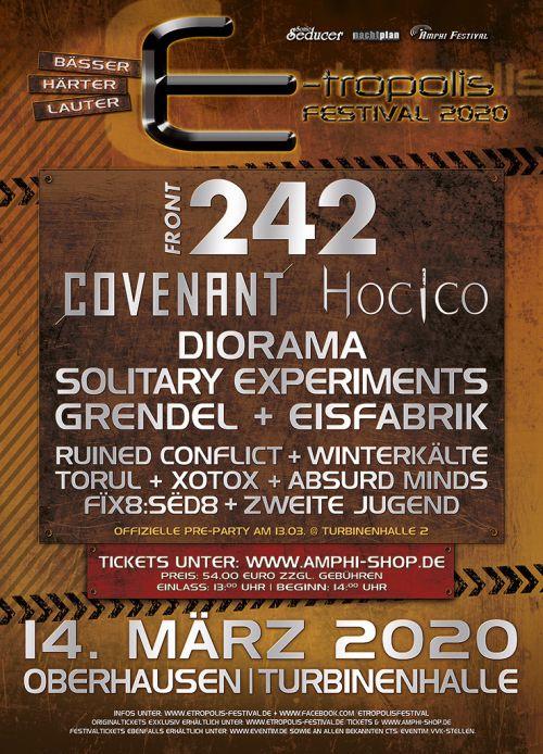 Infos zum E-tropolis Festival 2020