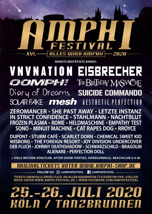 Amphi Festival 2020 - 3....