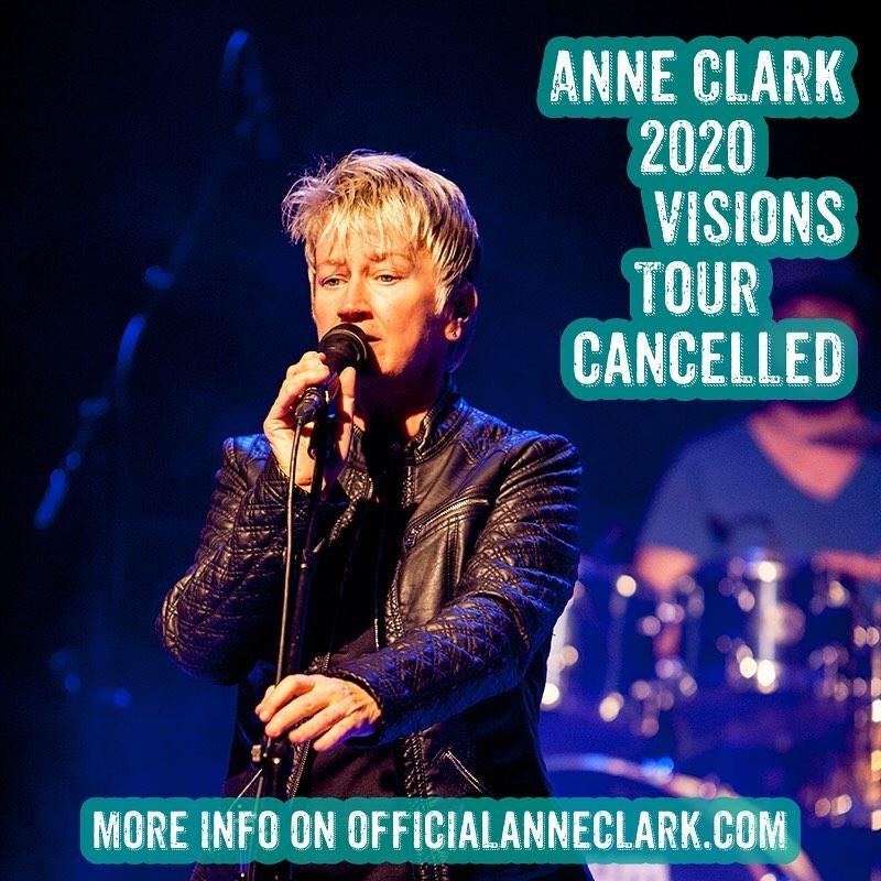Anne Clark - Herbsttour abgesagt