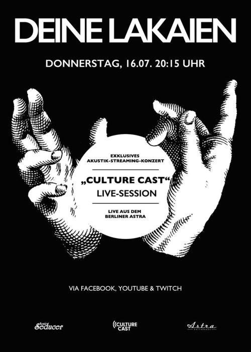 Deine Lakaien: Exklusives Akustik-Live-Streaming-Konzert aus dem Berliner Astra