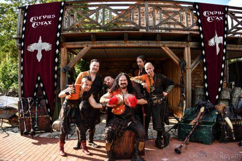 Corvus Corax spielen nächste Hofkonzerte am 11. und 12. Juli in Berlin
