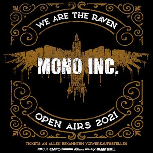 "Mono Inc. ""We Are The Raven""-Sommerkonzerte"