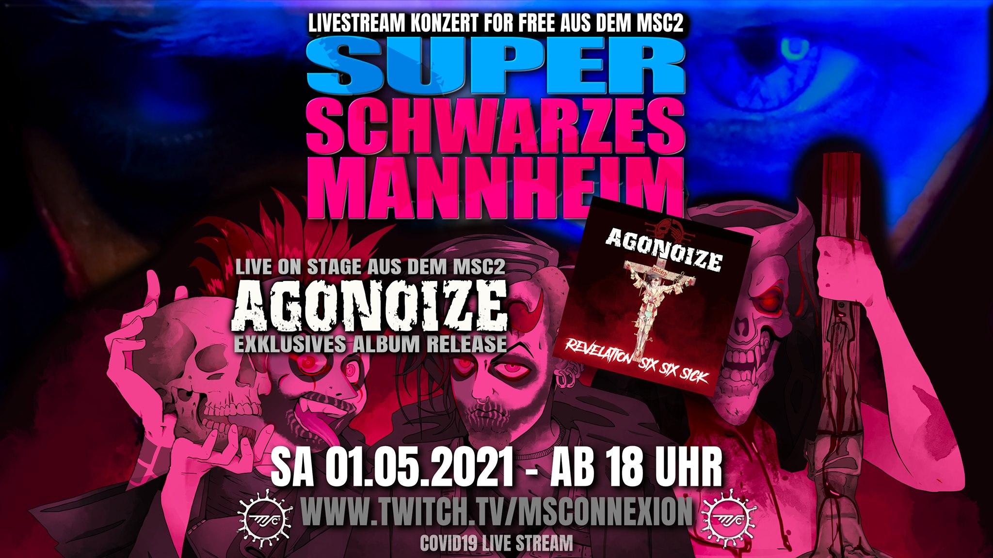 Agonoize - Livestream zum neuen Album
