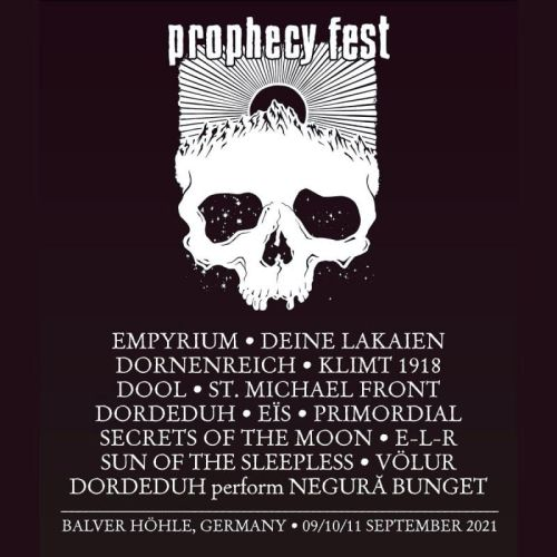 Prophecy Fest - Running Order